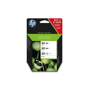 Original  Combopack Druckköpfe schwarz, color HP DeskJet 3055 a 0888182034569