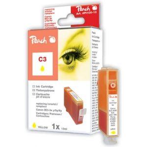 Peach  Tintenpatrone gelb kompatibel zu Canon BJC 8200 7640106491130