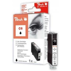 Peach  Tintenpatrone photo schwarz kompatibel zu Canon BJC 8200 7640106491161