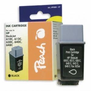 Peach  Druckkopf schwarz kompatibel zu HP DeskJet 612 C 7640106493073