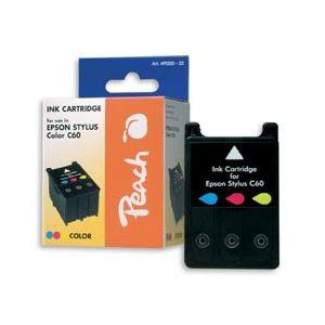Peach  Tintenpatrone color kompatibel zu Epson Stylus C 60 7640106492229