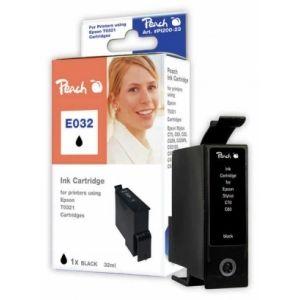 Peach  Tintenpatrone schwarz kompatibel zu Epson Stylus C 80 7640106492236