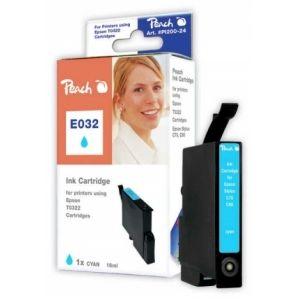 Peach  Tintenpatrone cyan kompatibel zu Epson Stylus C 80 7640106492243