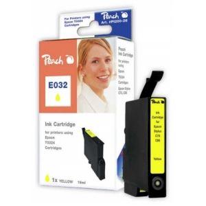 Peach  Tintenpatrone gelb kompatibel zu Epson Stylus C 80 7640106492267