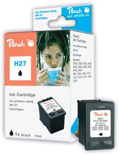 Peach  Druckkopf schwarz kompatibel zu HP OfficeJet 4625