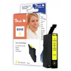 Peach  Tintenpatrone gelb kompatibel zu Epson Stylus C 82 7640106492380