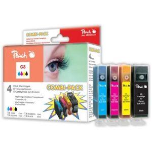 Peach  Spar Pack Tintenpatronen kompatibel zu Canon MPF 30 7640115949943