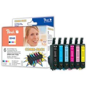 Peach  Spar Pack Tintenpatronen kompatibel zu Epson Stylus Photo R 300 7640115949998