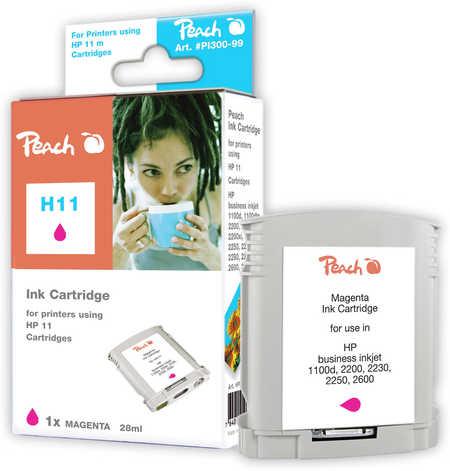 Peach  Tintenpatrone magenta kompatibel zu HP Business InkJet 1000