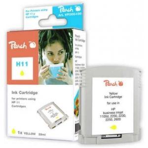 Peach  Tintenpatrone gelb kompatibel zu HP OfficeJet Pro K 850 Series 7640115947185