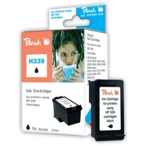 Peach  Druckkopf schwarz kompatibel zu HP OfficeJet 7408 7640115948229