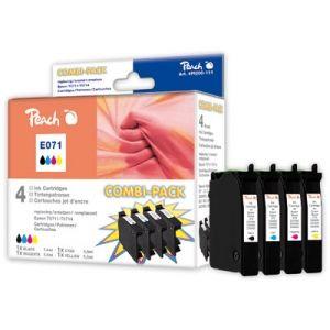 Peach  Spar Pack Tintenpatronen kompatibel zu Epson Stylus SX 100 7640108777249