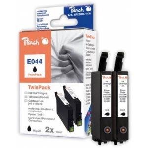 Peach  Twin Pack schwarz kompatibel zu Epson Stylus C 84 7640108778581