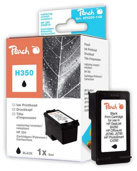 Peach  Druckkopf schwarz kompatibel zu HP OfficeJet J 5780