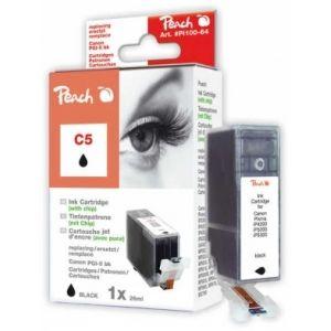 Peach  Tintenpatrone schwarz kompatibel zu Canon Pixma IP 4200 7640124891974