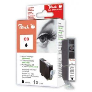 Peach  Tintenpatrone foto schwarz kompatibel zu Canon Pixma IP 4200 7640124891981