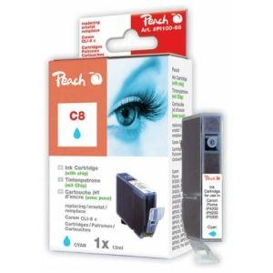 Peach  Tintenpatrone cyan kompatibel zu Canon Pixma IP 4200 7640124891998