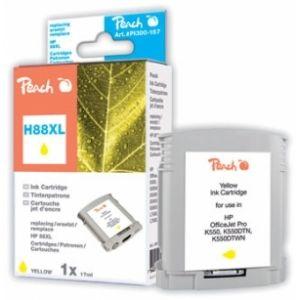 Peach  Tintenpatrone gelb kompatibel zu HP OfficeJet Pro K 550 DTN 7640124892162