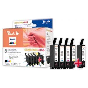 Peach  Spar Pack Plus Tintenpatronen kompatibel zu Epson Stylus DX 4850 7640124899871