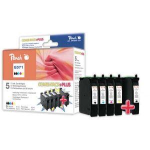 Peach  Spar Pack Plus Tintenpatronen kompatibel zu Epson Stylus SX 210 Series 7640124899888
