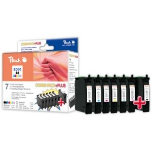 Peach  Spar Pack Plus Tintenpatronen kompatibel zu Epson Stylus Photo P 50 7640124895712