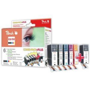 Peach  Spar Pack Plus Tintenpatronen kompatibel zu Canon Pixma IP 4200 7640124895521