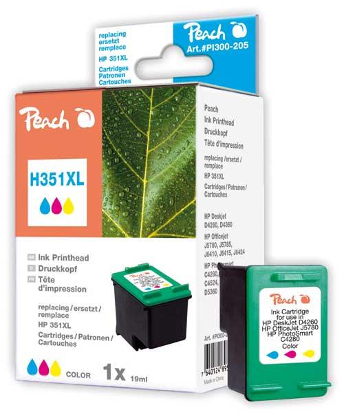 Peach  Druckkopf color kompatibel zu HP OfficeJet J 5780