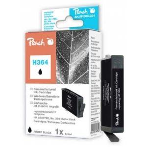 Peach  Tintenpatrone foto schwarz kompatibel zu HP PhotoSmart Premium C 410 Series 7640124897020