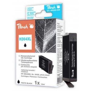 Peach  Tintenpatrone foto schwarz kompatibel zu HP PhotoSmart Premium C 410 Series 7640124897075