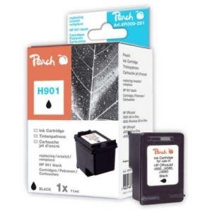 Peach  Druckkopf schwarz kompatibel zu HP OfficeJet J 4540 7640148550055