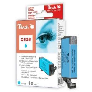 Peach  Tintenpatrone cyan kompatibel zu Canon Pixma MG 6150 7640148551304