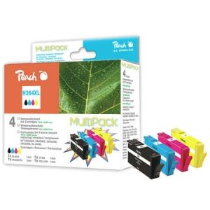 Peach  Spar Pack Tintenpatronen kompatibel zu HP DeskJet 3520 e-All-in-One 7640148551595