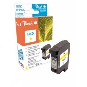 Peach  Druckkopf gelb kompatibel zu HP Copyjet 7640148551526