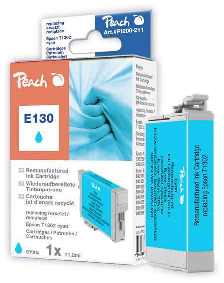 Peach  Tintenpatrone cyan kompatibel zu Epson Stylus SX 525 WD