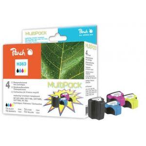Peach  Spar Pack Tintenpatronen kompatibel zu HP PhotoSmart 8250 7640148552110