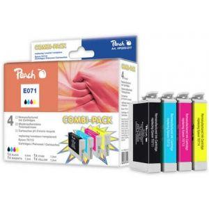 Peach  Spar Pack Plus Tintenpatronen kompatibel zu Epson Stylus SX 210 Series 7640148554930