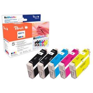 Peach  Spar Pack Plus Tintenpatronen kompatibel zu Epson Stylus SX 210 Series 7640148555876