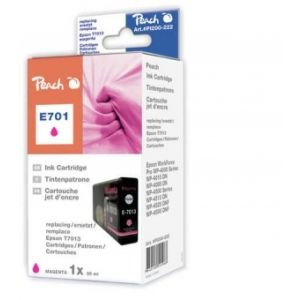 Peach  XL-Tintenpatrone magenta kompatibel zu Epson WorkForce Pro WP-4095 DN 7640148555968