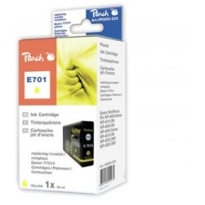 Peach  XL-Tintenpatrone gelb kompatibel zu Epson WorkForce Pro WP-4095 DN 7640148555975