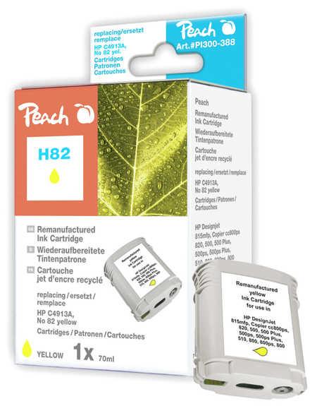 Peach  Tintenpatrone gelb kompatibel zu HP DesignJet 500 E