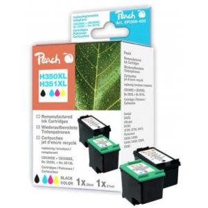 Peach  Spar Pack Druckköpfe kompatibel zu HP OfficeJet J 5780 7640155893435