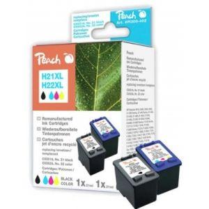 Peach  Spar Pack Druckköpfe kompatibel zu HP OfficeJet 4300 Series 7640155893893