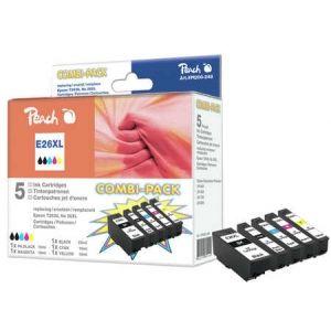 Peach  Spar Pack Tintenpatronen HY kompatibel zu Epson Expression Premium XP-700