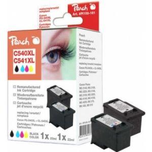 Peach  Spar Pack Druckköpfe kompatibel zu Canon Pixma MG 2250 7640155894371
