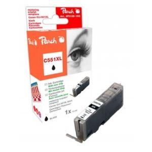 Peach  XL-Tintenpatrone foto schwarz kompatibel zu Canon Pixma MX 725 7640155894425