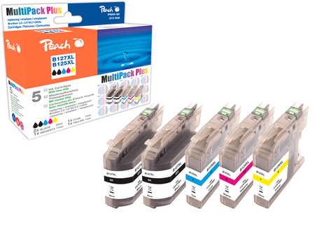 Peach  Spar Pack Plus Tintenpatronen, kompatibel zu Brother MFCJ 4310 DW