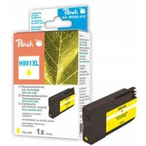 Peach  Tintenpatrone gelb HC kompatibel zu HP OfficeJet Pro 251 dw 7640155896122