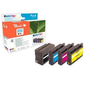 Peach  Spar Pack Tintenpatronen kompatibel zu HP OfficeJet 7600 Series 7640155896184