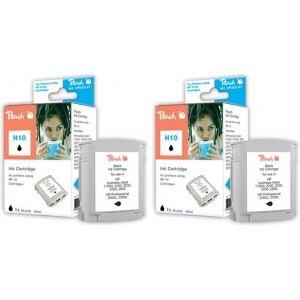 Peach  Doppelpack Tintenpatronen schwarz kompatibel zu HP OfficeJet Pro K 850 7640162272711