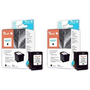 Peach  Doppelpack Druckköpfe schwarz kompatibel zu HP DeskJet 6900 Series 7640162272896